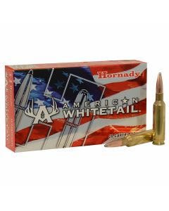 Hornady American Whitetail 6.5 Creedmoor 129 Grain Interlock Jacketed Spire Point 20 Rounds