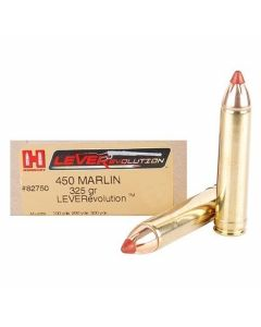 Hornady LEVERevolution 450 Marlin 325 Grain Flex Tip Expanding 20 Rounds