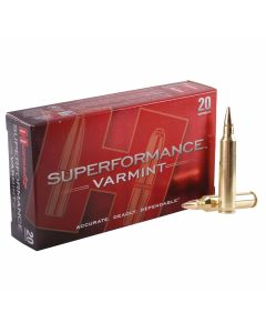 Hornady Superformance Varmint 204 Ruger 45 Grain Jacketed Soft Point 20 Rounds