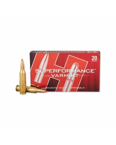Hornady Superformance Varmint 243 Winchester 75 Grain V-Max 20 Rounds