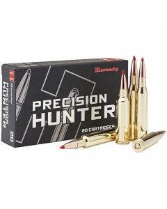 Hornady Precision Hunter 7mm-08 Remington 150 Grain ELD-X Polymer Tip Boat Tail 20 Rounds