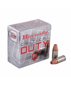 Hornady Critical Duty 9mm Luger 135 Grain Flex Lock 25 Rounds