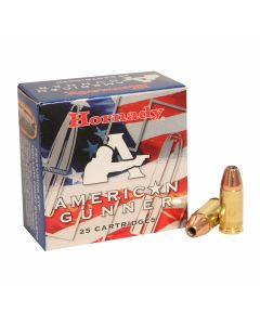 Hornady American Gunner 9mm Luger 115 Grain XTP Jacketed Hollow Point 25 Rounds