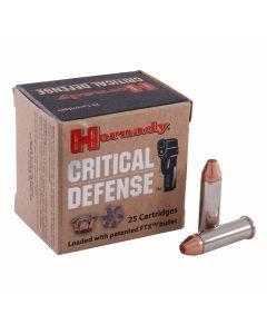 Hornady Critical Defense 38 Special 110 Grain Flex Tip Expanding 25 Rounds