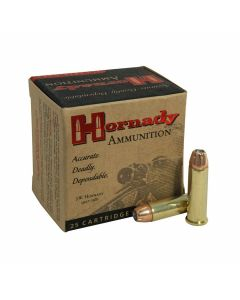 Hornady Custom 38 Special 158 Grain XTP Jacketed Hollow Point 25 Rounds