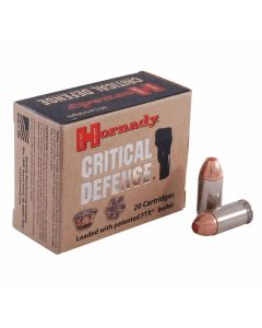 Hornady Critical Defense 45 ACP 185 Grain Flex Tip Expanding 20 Rounds