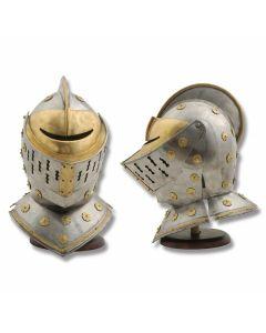 Golden Knight Helmet