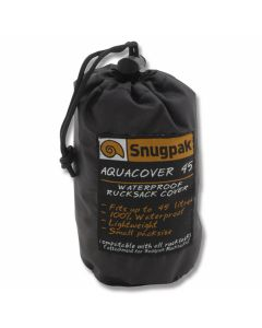 Snugpak Aquacover 45 Waterproof Rucksack Cover - Black