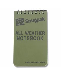 SnugPak All Weather Notebook - OD Green - Small