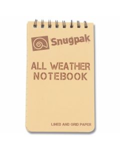 SnugPak All Weather Notebook - Desert Tan - Small