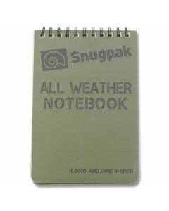 SnugPak All Weather Notebook - OD Green - Large