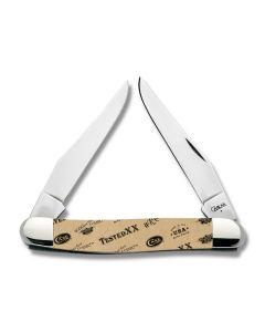 "Case Classic Logos Muskrat 3.875"" with Corelon Handles and Tru-Sharp Surgical Steel Plain Edge Blades 9200CC"