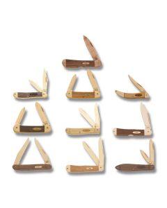 Case Wood Knife Kit Set of 10