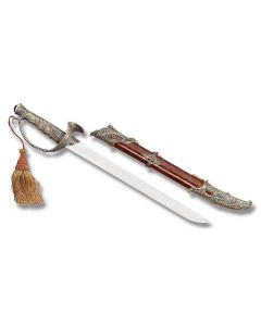 Master Cutlery Pirate Dagger with Zinc Alloy Handle and Satin Finish Stainless Steel Blade Model HK-2007