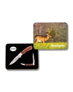 Remington Collectors Set with Laser Wood Handles and 420 J2 Stainless Steel Blades Model R60018-C