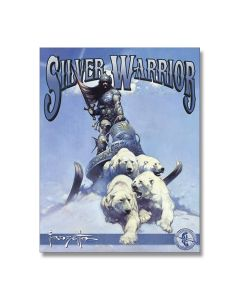Frazetta Silver Warrior Tin Sign Model 2112