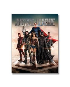 Justice League Tin Sign Model 2255