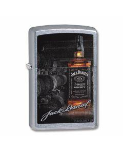Zippo Street Chrome Jack Daniels Signature Lighter Model 29570