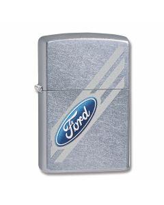 Zippo Street Chrome Ford Angled Logo Lighter Model 29577