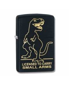 Zippo Black Matte Licensed to Carry Lighter Model 29629