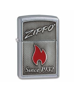Zippo Street Chrome Zippo Flame Lighter Model 29650