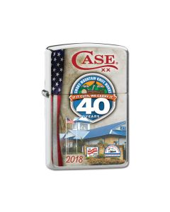 Zippo Case 2018 SMKW 40th Anniversary Event Lighter