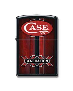 Zippo Case Generation XX Black Matte Lighter Model 218CI8584