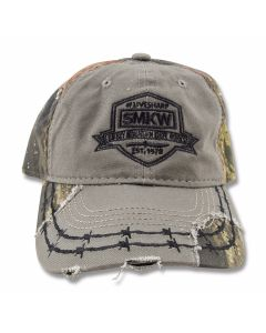 SMKW Live Sharp Destressed Camo Cap
