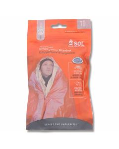 SOL Heatsheets Emergency Blanket - One Person