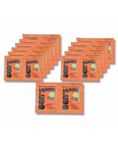 Ben's 30% Tick and Insect Repellent Wipes - 30 Count
