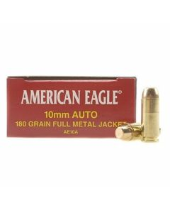 Federal American Eagle 10MM 180 Grain Full Metal Jacket 50 Rounds
