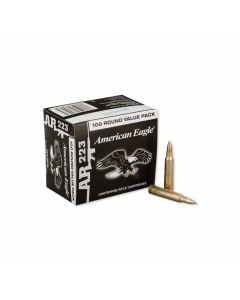 Federal American Eagle 223 Remington 55 Grain Full Metal Jacket 100 Rounds