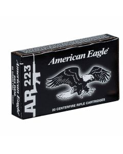 Federal American Eagle 223 Remington 55 Grain Full Metal Jacket 20 Rounds
