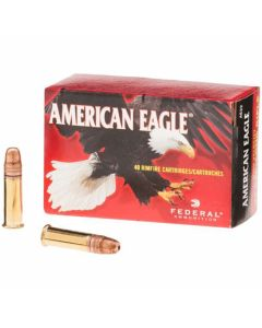 Federal American Eagle .22LR 38 Grains Hollow Point 40 Rounds