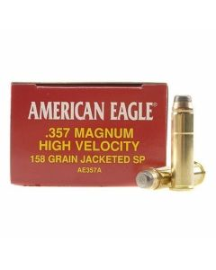 Federal American Eagle 357 Magnum 158 Grain Jacketed Soft Tip 50 Rounds