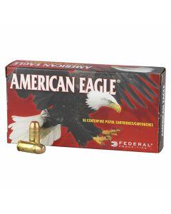 Federal American Eagle 380 ACP 95 Grain Full Metal Jacket 50 Rounds