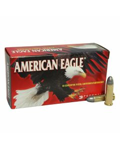 Federal American Eagle 38 Special 158 Grain Lead Round Nose 50 rounds