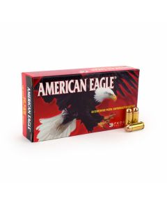 Federal American Eagle 40 S&W 180 Grain Full Metal Jacket 50 Rounds