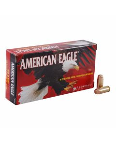 Federal American Eagle 40 S&W 165 Grain Full Metal Jacket 50 Rounds