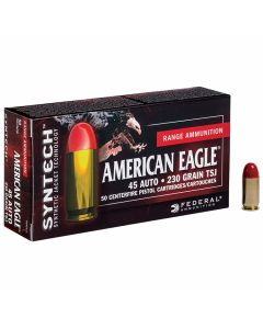 Federal American Eagle 45 ACP 230 Grain Total Syntech Jacket 50 Rounds