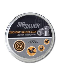 Sig Sauer Zero Point .177 Ballistic Alloy Pellets Model AIR-AMMO-ZERO-AL-177-300
