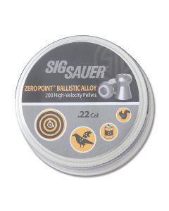 Sig Sauer Zero Point .22 Ballistic Alloy Pellets Model AIR-AMMO-ZERO-AL-22-200