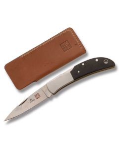 Al Mar Hawk Black Micarta Handle AUS8 Stainless Steel Blade