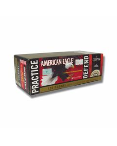 Federal American Eagle 40 S&W 180 Grain Full Metal Jacket 120 Rounds Combo Pack