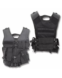 5ive Star Gear CDV-5S Cross Draw Vest - Black - L/2XL