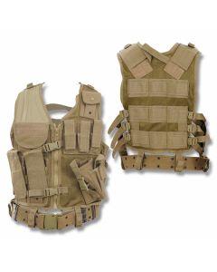 5ive Star Gear CDV-5S Cross Draw Vest Coyote L/2XL