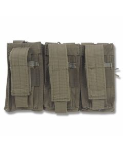 5ive Star Gear TOT-5S Triple Open Top M4/M16 Mag Pouch OD Green