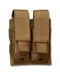 5ive Star Gear MPD-5S Double Pistol Mag Pouch Coyote
