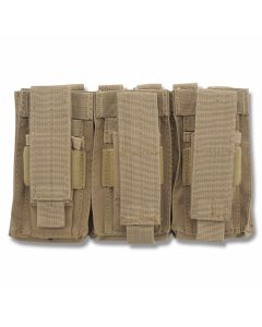 5ive Star Gear TOT-5S Triple Open Top M4/M16 Mag Pouch Coyote