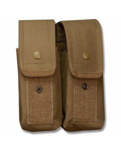 5ive Star Gear AKDP-5S M4/AK-47 Double Mag Pouch Coyote